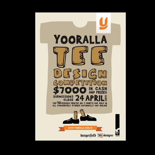 Street art wanted design a flyer poster for a t shirt for T shirt design contest flyer