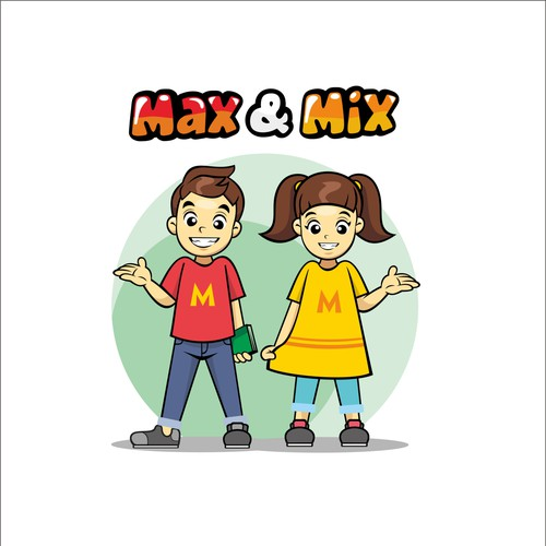 Cartoon Character Design Competition : Create twin boy and girl cartoon characters character or