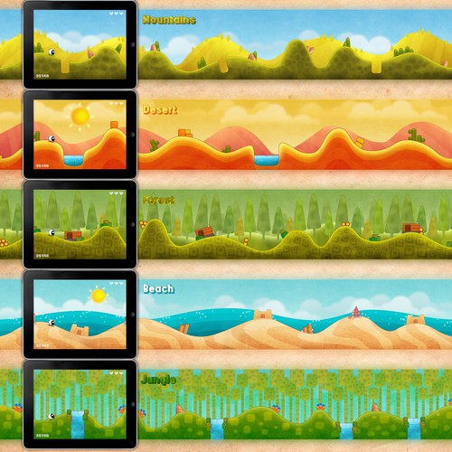 Level Screens For An IPad Game Needed