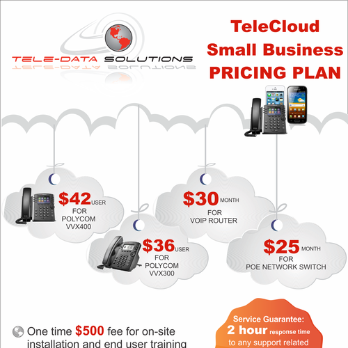 Business Pricing: TeleCloud Small Business Pricing Plan