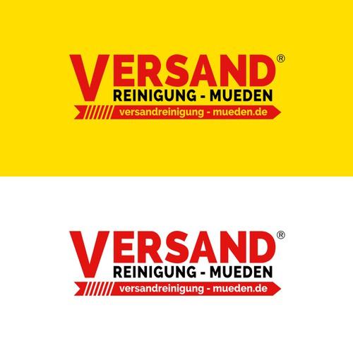 Logo f r versandreinigung versand logo for Design versand