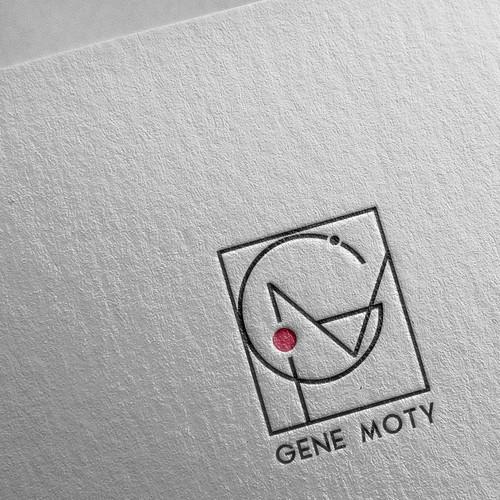 Create custom Vienna Secession Monogram style logo for and artist Design by Studio Lazar