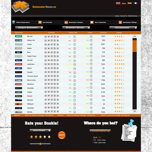 Runner-up design by NKdesigns