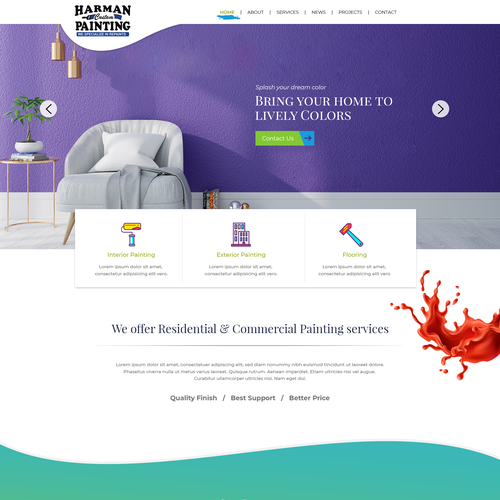 Runner-up design by Dashu Pixel Perfect