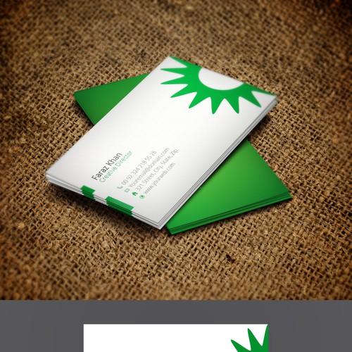 Runner-up design by Greenish Designs
