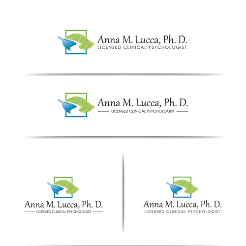 Psychotherapist needs creative logo for her private practice Design by Melissa G.