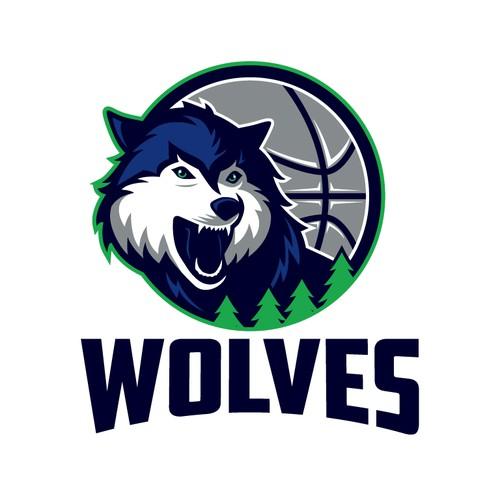 Community Contest: Design a new logo for the Minnesota Timberwolves! Design von 262_kento