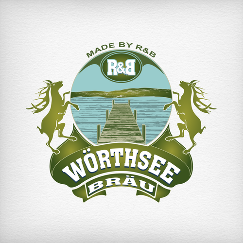 Logo design for a bavarian craft beer brewery lake for Craft beer logo design