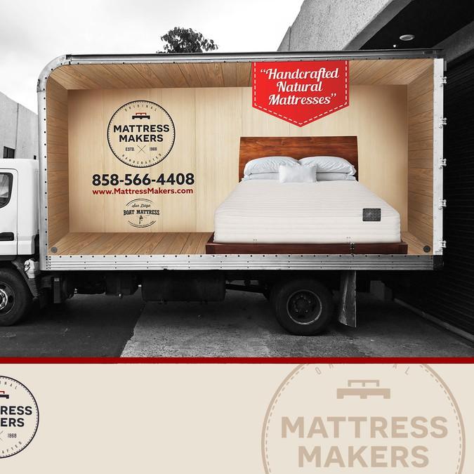 Natural Mattress Company Needs a Truck Wrap | Car, truck or van wrap contest