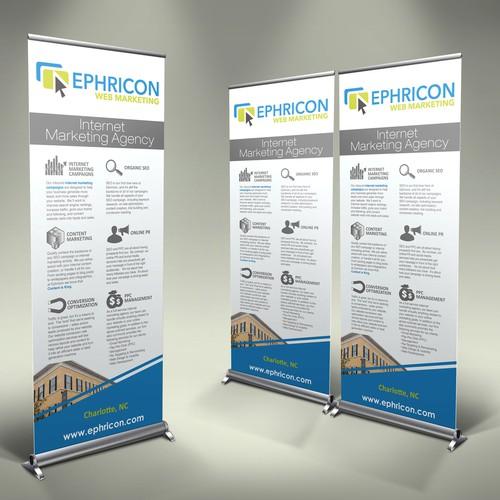 Ephricon Web Marketing, LLC needs a new signage | Signage contest
