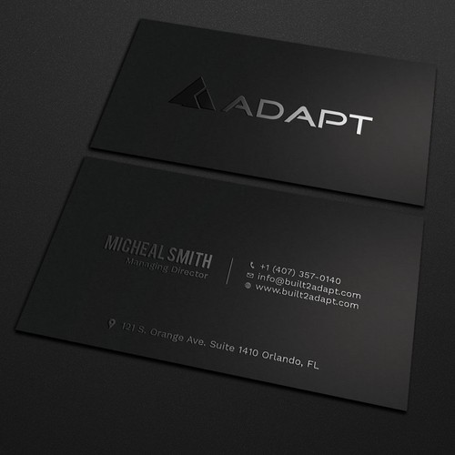 Tech company looking for the best business card ever business card runner up design by jurassic world colourmoves