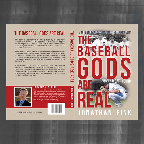Book Cover for The Baseball Gods are Real | Concours: Couverture de