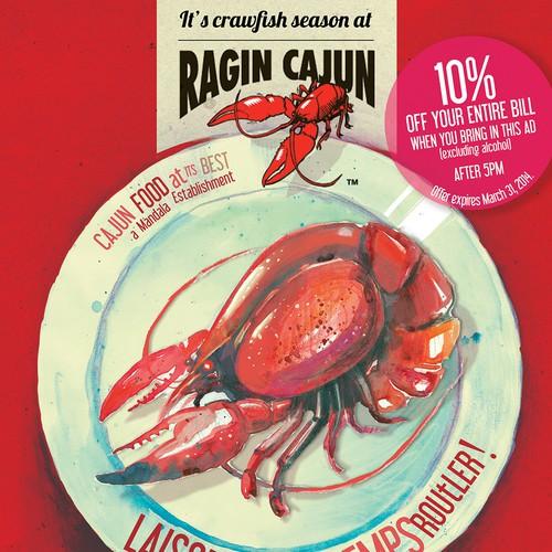 Ragin Cajun Design by Evilltimm