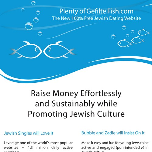 Plenty of gefilte fish in the sea print or packaging for Fish in the sea dating site