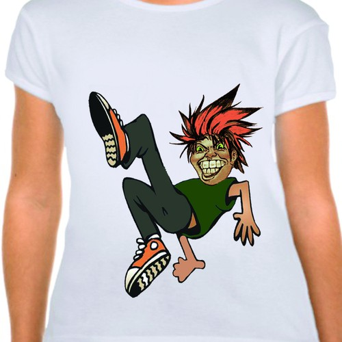 Create character for indie tshirt startup Design by neelima