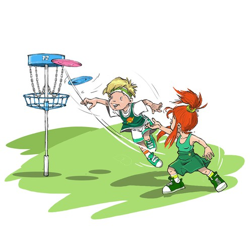 Character Design Short Course : Mascots in action for golf short game world character