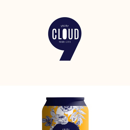 Cloud Nine Cold Brew Contest Design by S A V