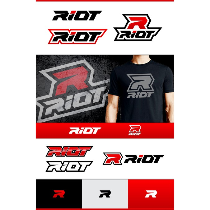 RIOT Sports Gear Needs a New Logo for its Custom Apparel