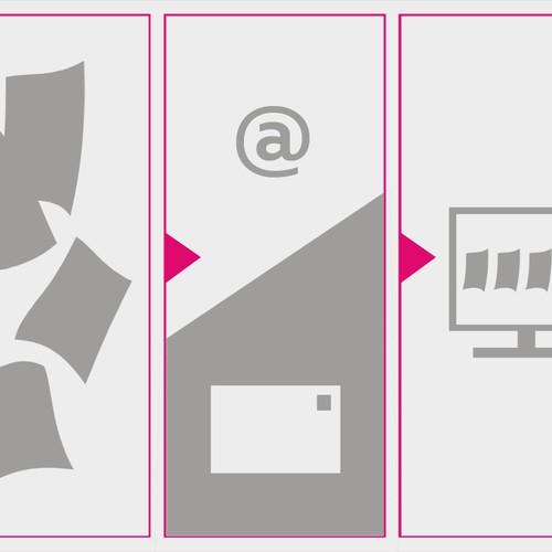 illustration f r flexassist illustration oder grafik wettbewerb. Black Bedroom Furniture Sets. Home Design Ideas