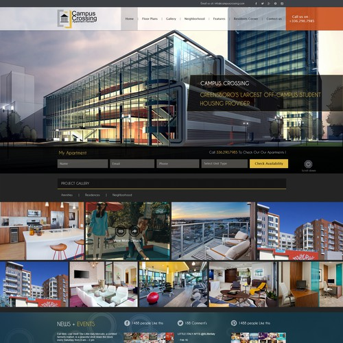 Diseño finalista de Business Tech Park