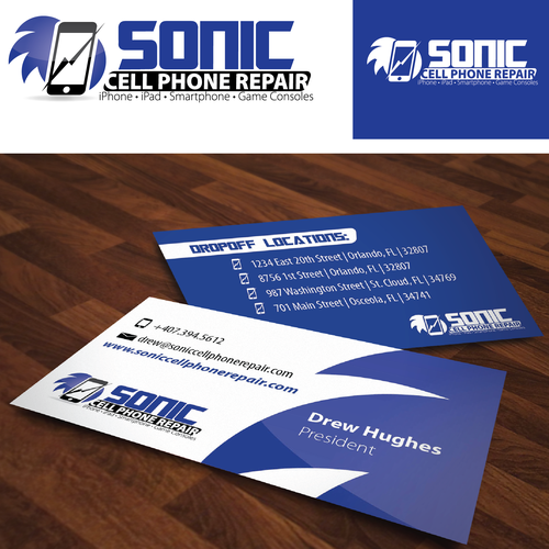 Create The Next Logo For Sonic Cell Phone Repair Logo Business