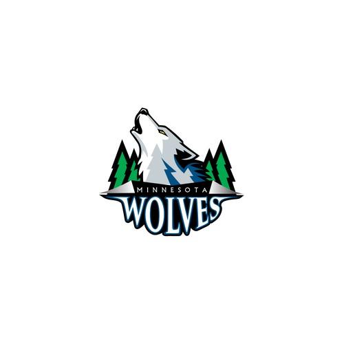 Community Contest: Design a new logo for the Minnesota Timberwolves! Design von Argim