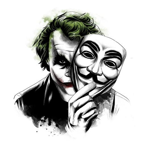 Tattoo Designs Joker Anonymous Tattoo Contest 99designs