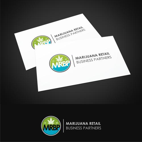 Logo design and business card design for medical marijuana runner up design by jss design colourmoves
