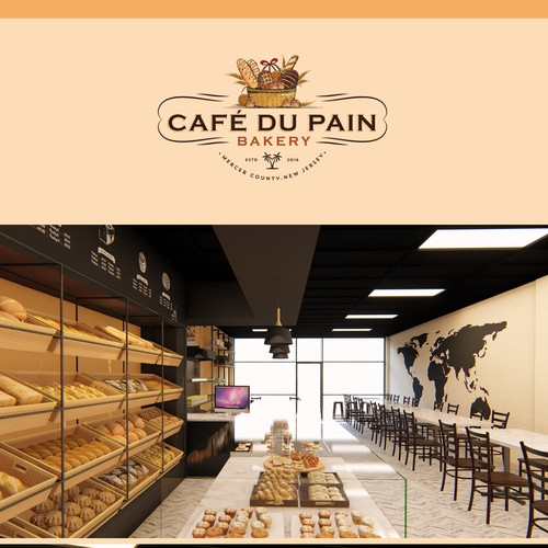 Create The Best Looking Most Delicious Bakery Interior Design 3d Contest 99designs