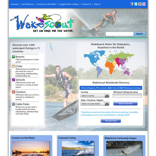 Design finalista por websparkles