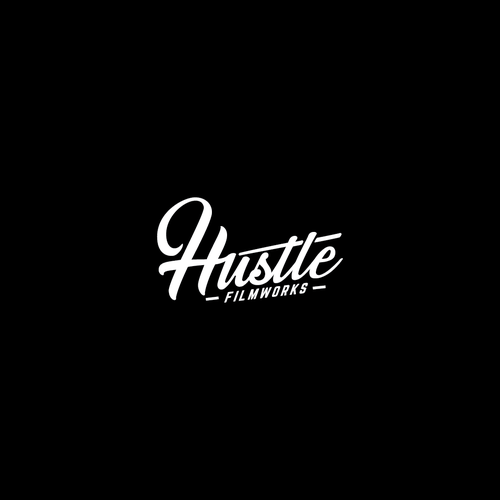 Bring your HUSTLE to my new filmmaking brands logo! Design by LetsRockK