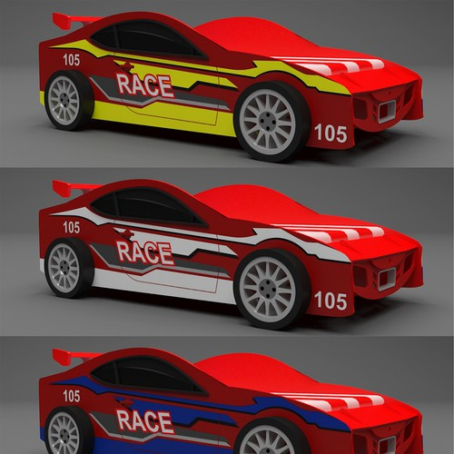Runner-up design by Kame Graphics