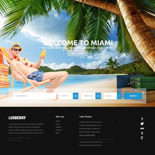Diseño finalista de webDAE