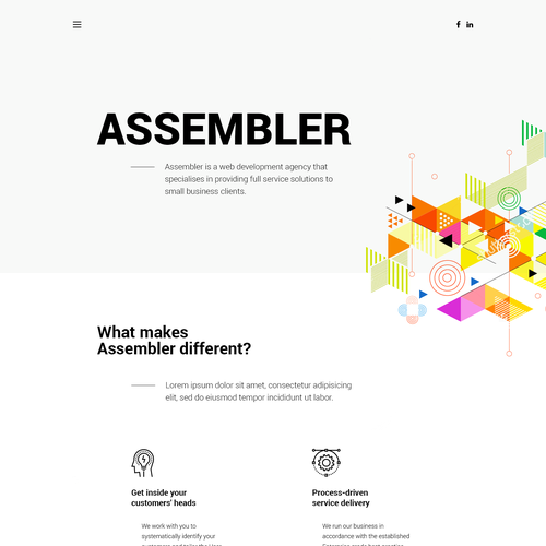 Runner-up design by Pure Pixels