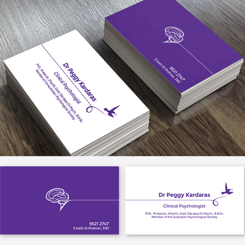 Psychology business in a vibrant suburb to attract the public runner up design by jlshuag colourmoves