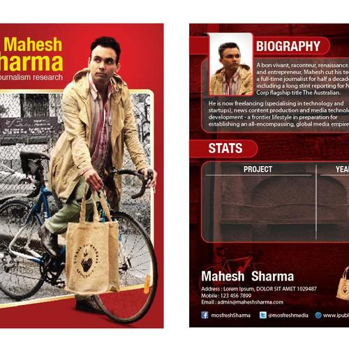 Ontwerp van finalist kaindra D.G