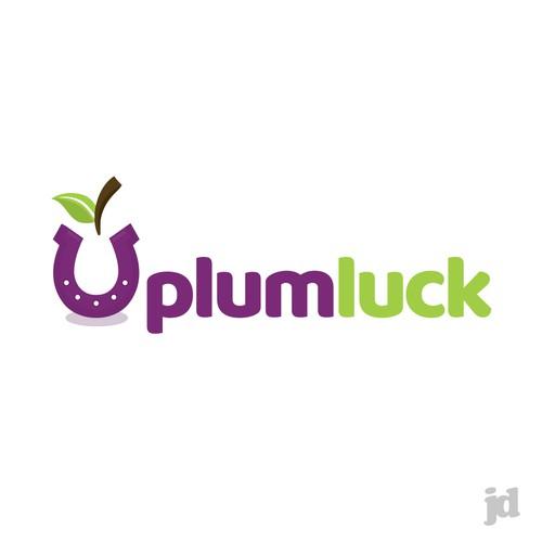 plumluck logo for fun new casual gaming app logo design contest 99designs 99designs