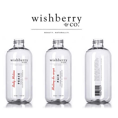 Wishberry & Co - Bath and Body Care Line Design by Javier Milla
