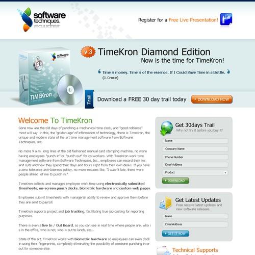 Ontwerp van finalist webmedia