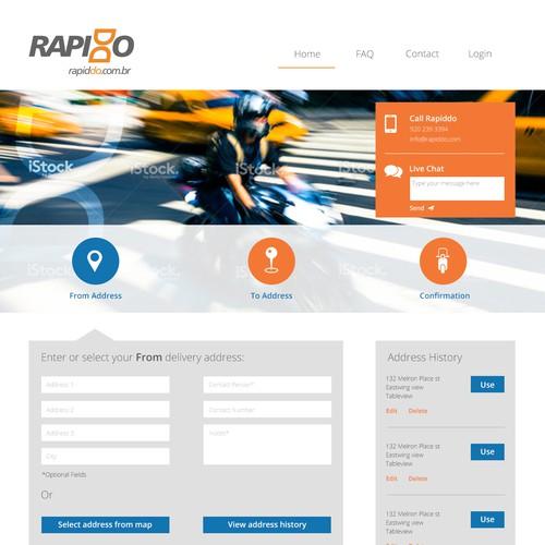 Runner-up design by MK UI/UX/Web Design