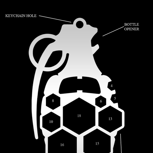 Runner-up design by KEVRAUX