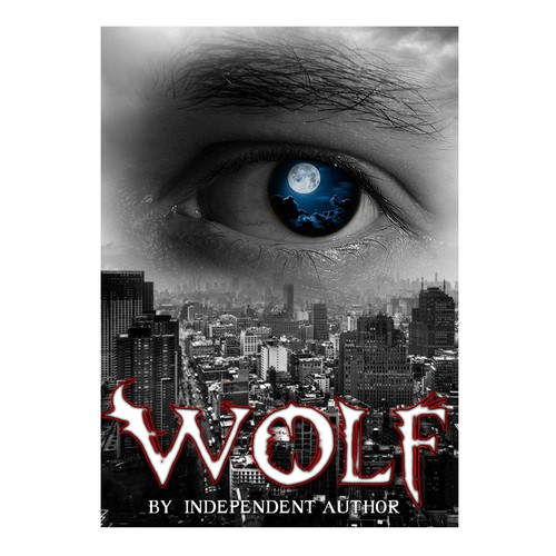 Book Cover Contest ~ Werewolf novel cover book contest