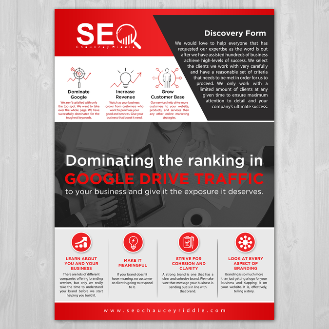 Design SEO Mail Marketing Flyer | Postcard, flyer or print