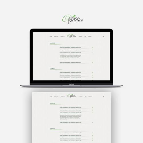 Design One of The Biggest Organic Farm in America Website Design by JPSDesign