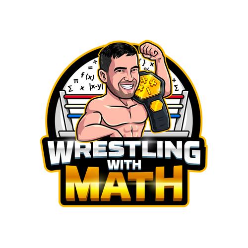 Wrestling With Math Logo Logo Design Contest 99designs