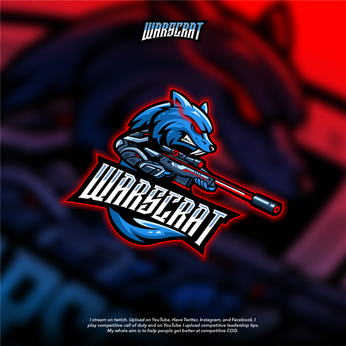Gaming Branding for Twitch, YouTube, Twitter, Facebook, and