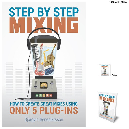 Design a Best-Selling Book Cover for a Music Producer Design by enodeer