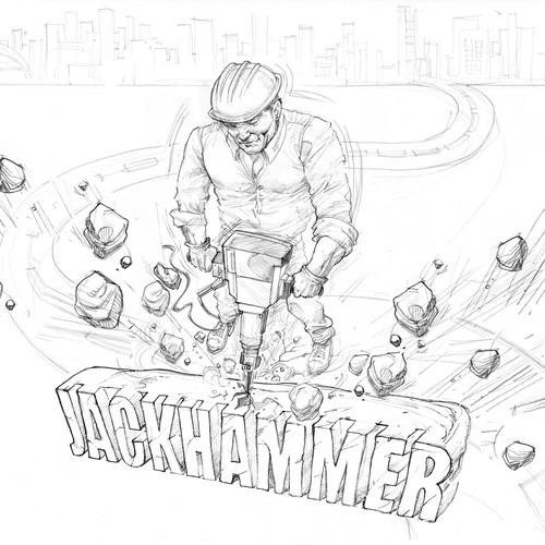 Runner-up design by Daniel.art76