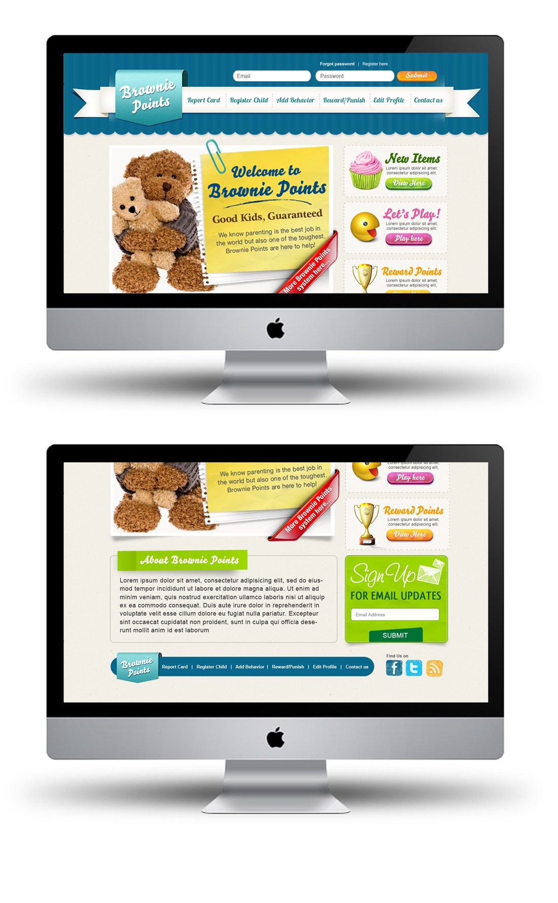 Web Page Design by Mary_pile