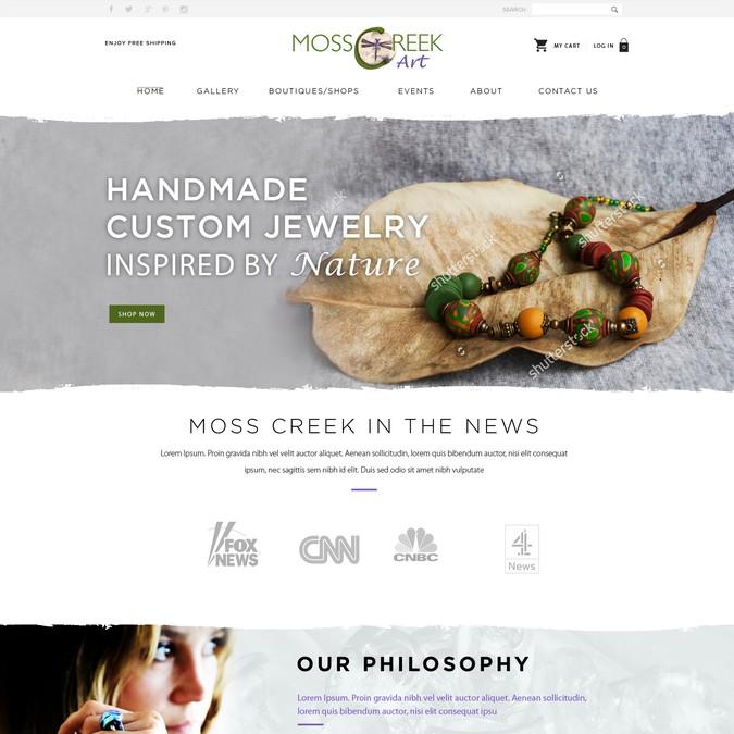 Diseño ganador de PixieWebDesigner